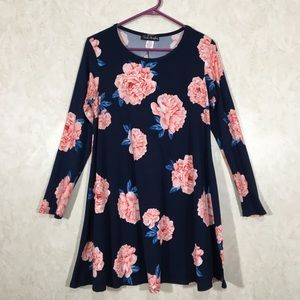 💕 French Atmosphere Floral Loose-Fit Dress